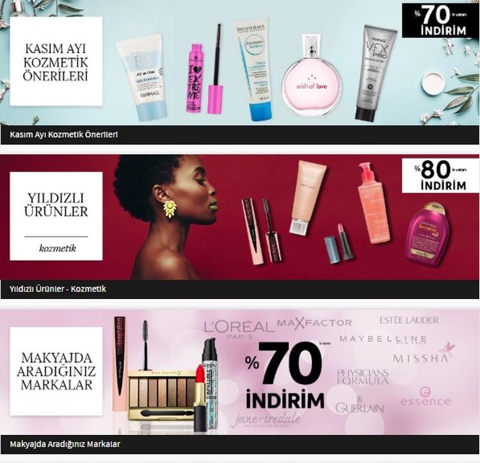 Trendyol kozmetik indirimleri